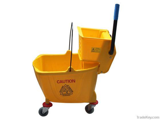 24L/25L/30l/36l/50l/60l Mini Mop Wringer With Single(Double) Bucket