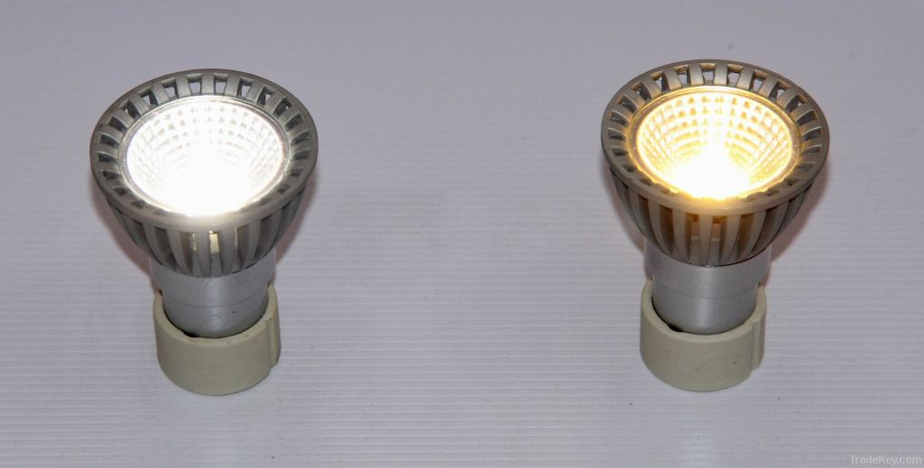 MR16 LED Lamp, Taiwan COB LED, 3W, Equal to Halogen lamp 35W, AC110-240V
