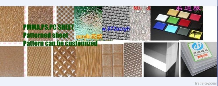PMMA/PS/Patterned sheet