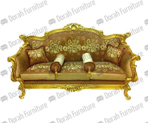 Three Seater Sofa And Upholstered For Living Room Furniture