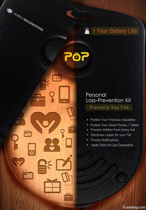 Personal Loss-Prevention Kit (Proximity key fob)