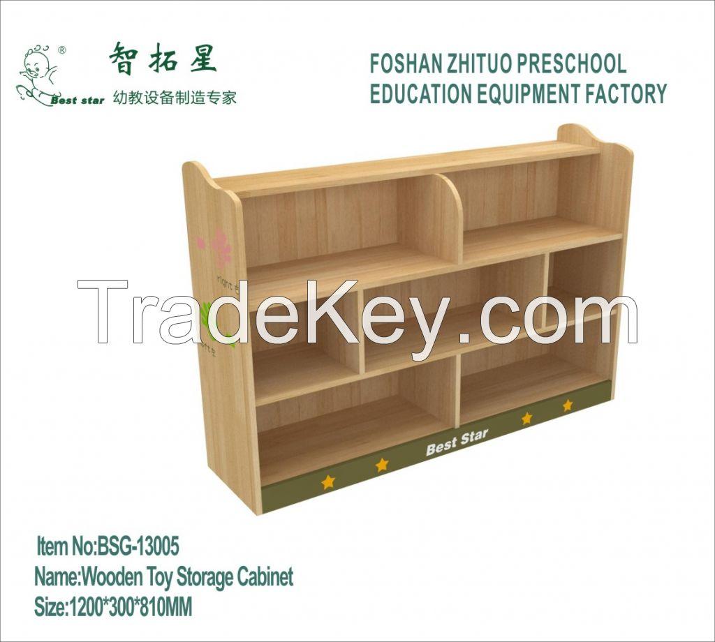 Wooden Children Cabinet