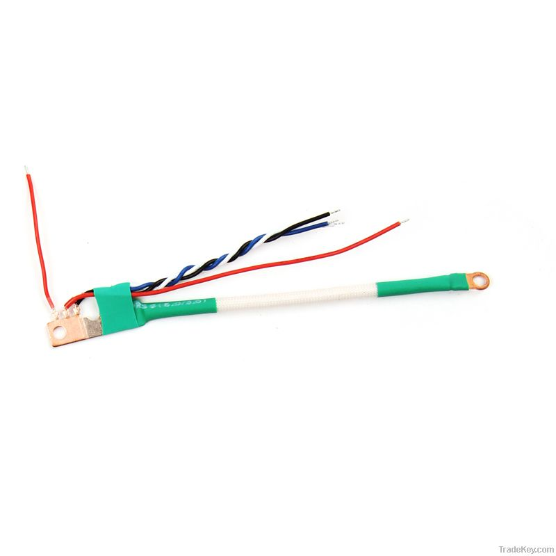 shunt with copper wires