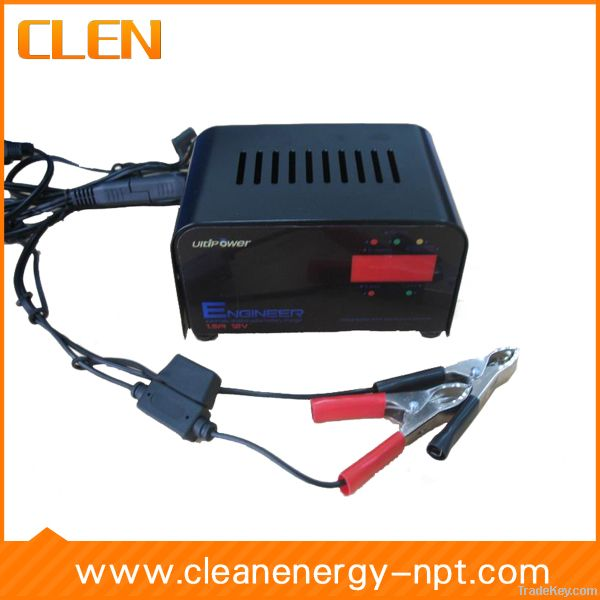 12V 1.5A lead acid motorcycle battery charger