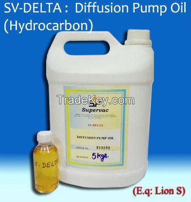 Hydrocarbon Diffusion Pump Oil: SV-DELTA