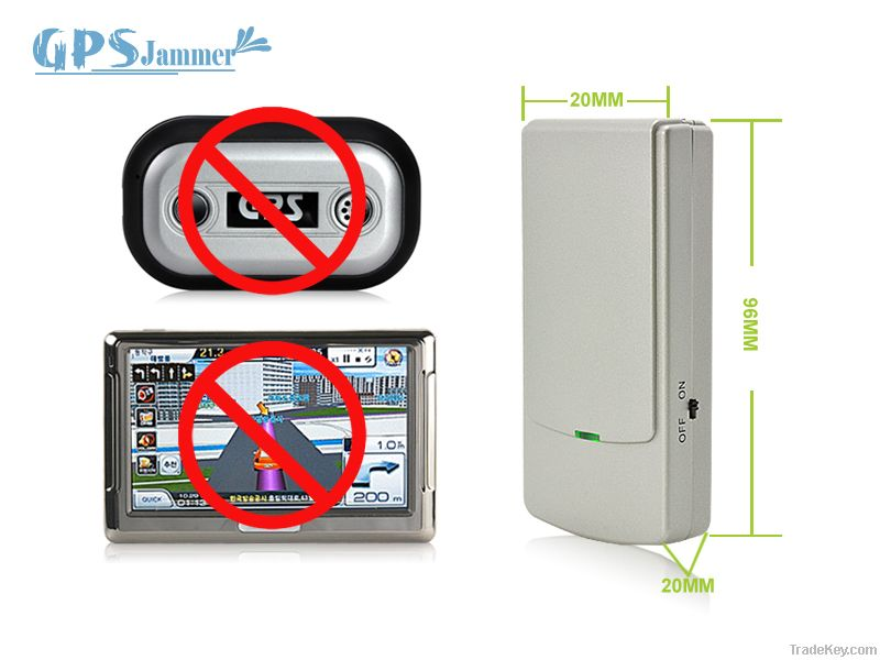Anti-surveillance tool that effectively blocks GPS L1 and L2 signals