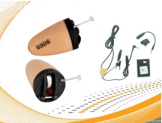 Micro-earphone hidden earpiece deep inside the ear invisible 305 205