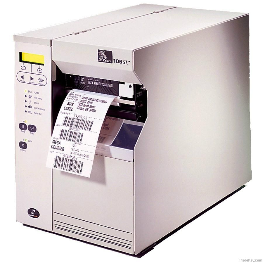 Zebra 105SL Industrial Direct Thermal Transfer Printer