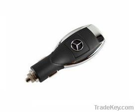 High Quality Auto Logos 1A/2A USB Car Charger Designed for Apple and A