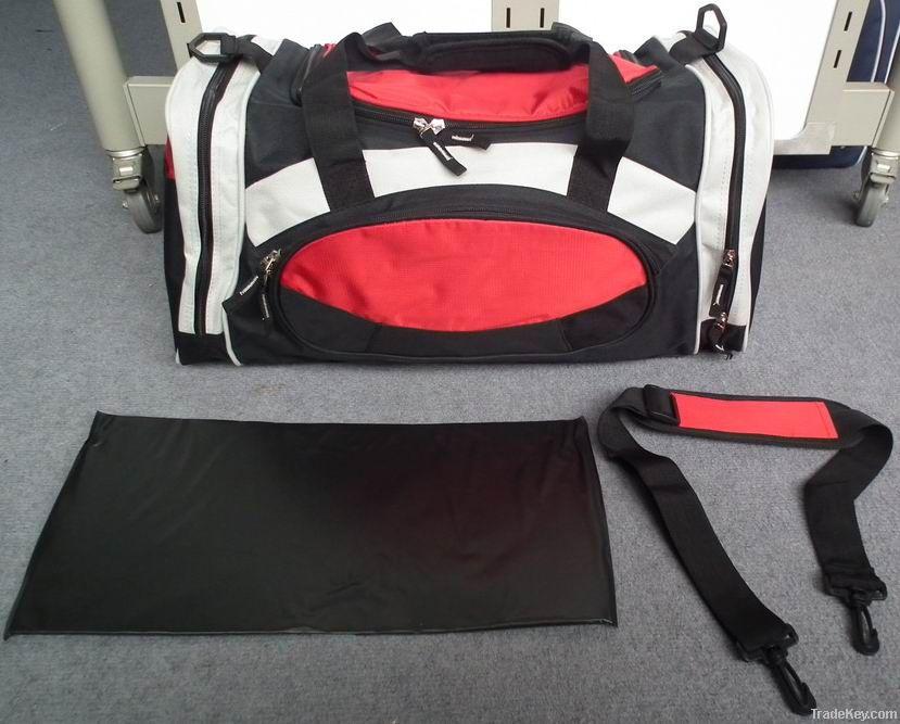 Practical sports gym bag