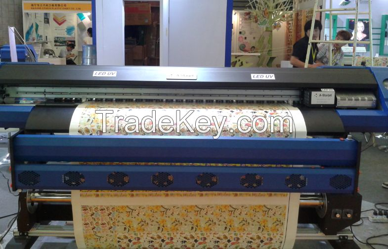 3.2m/1.8m UV inkjet printer with Epson heads