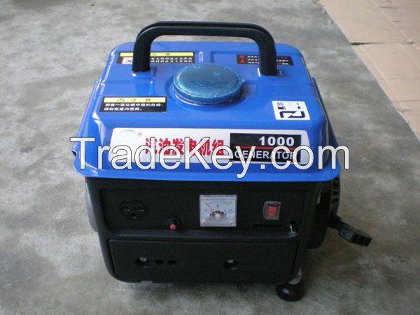 700w small portable generator gasoline fuel home use small copper wire generator