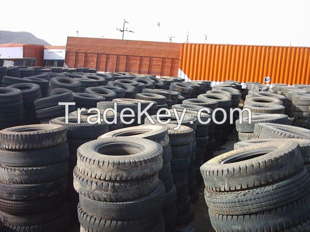 Scrap used Tyres (tires) in Bales and loose