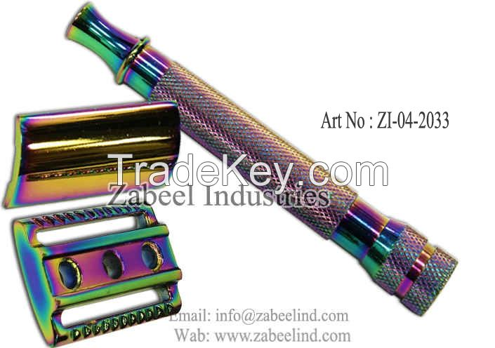 Professonal Stainless Steel Barber Shaving Razor and Hair Remover By Zabeel Industries