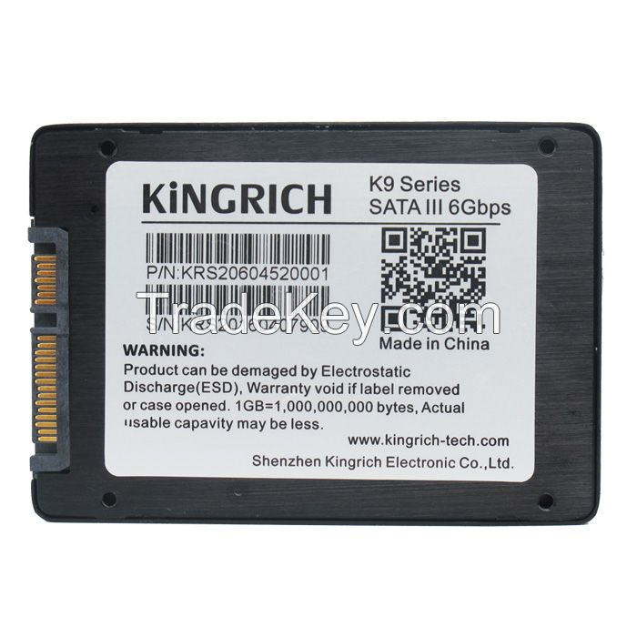 Fast Speed Internal SSD Solid State Drive Hard Disk 2.5 inch SATA 3 SSD 64GB 6Gb/s High Frequency with 256MB Cache for Desktop PC