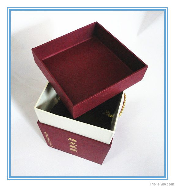 Popular paper gift box from factory price