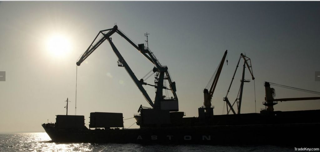 Shipping services from Ukrainian ports (Black sea, Azov Sea)