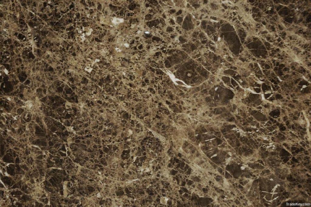 Dark emperador marble