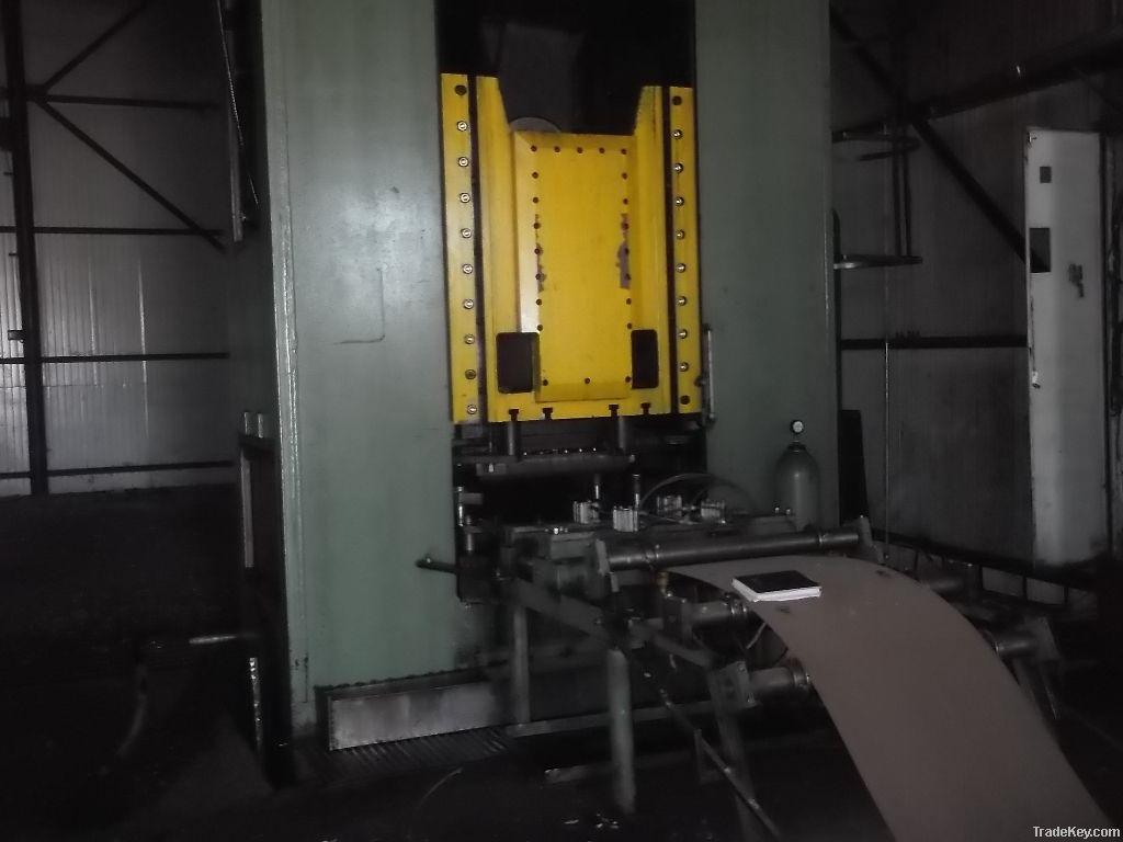 Mechanical press 630tf double impact