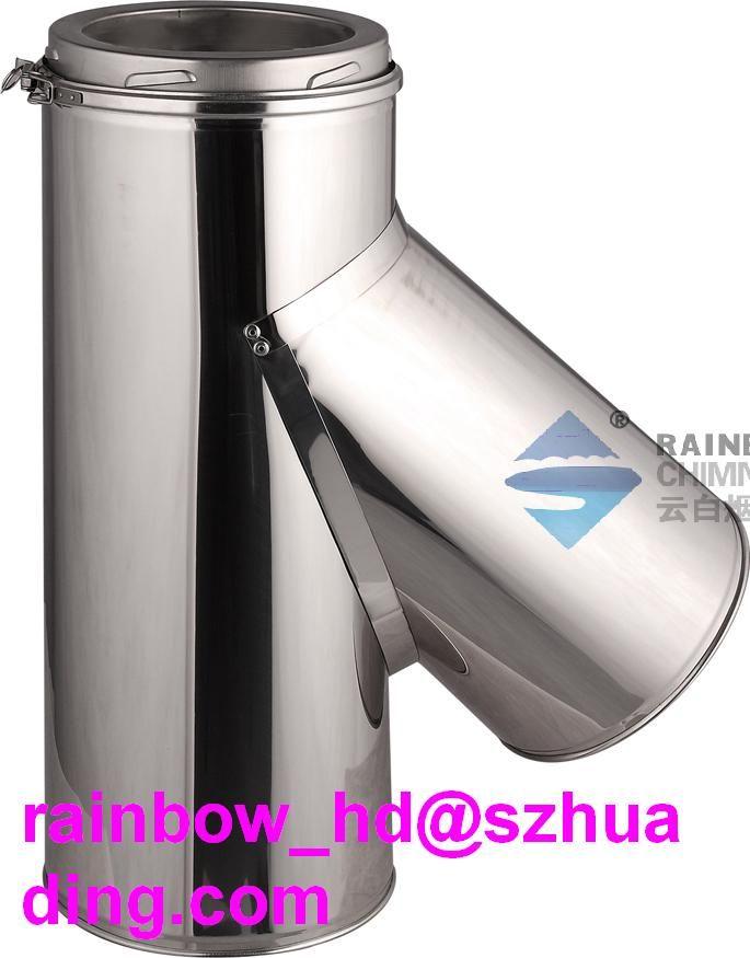 CE flue chimney pipe