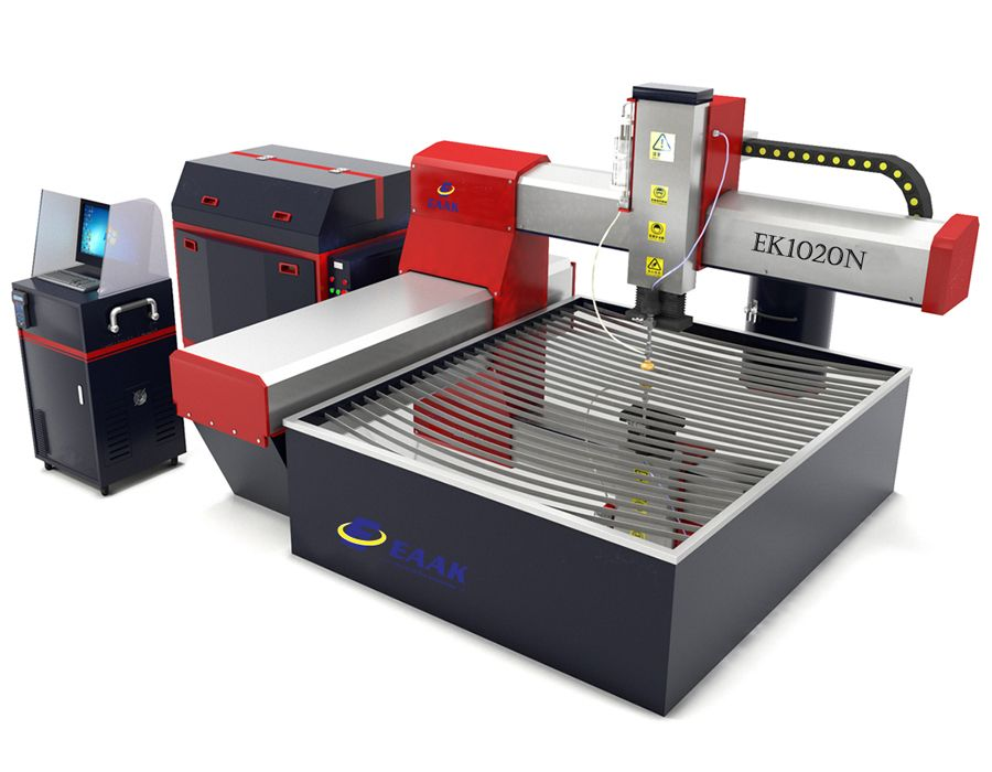 SABER Certified cnc water jet cutting machine for metal glass stone