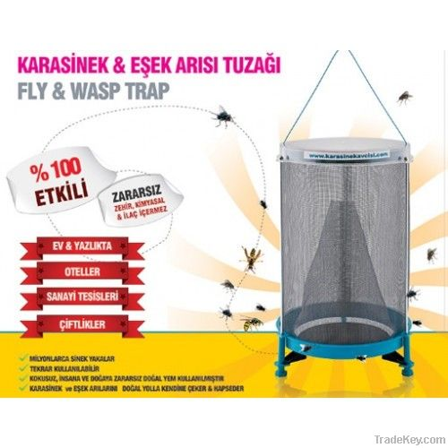 Flies'inn Fly and Wasp Trap