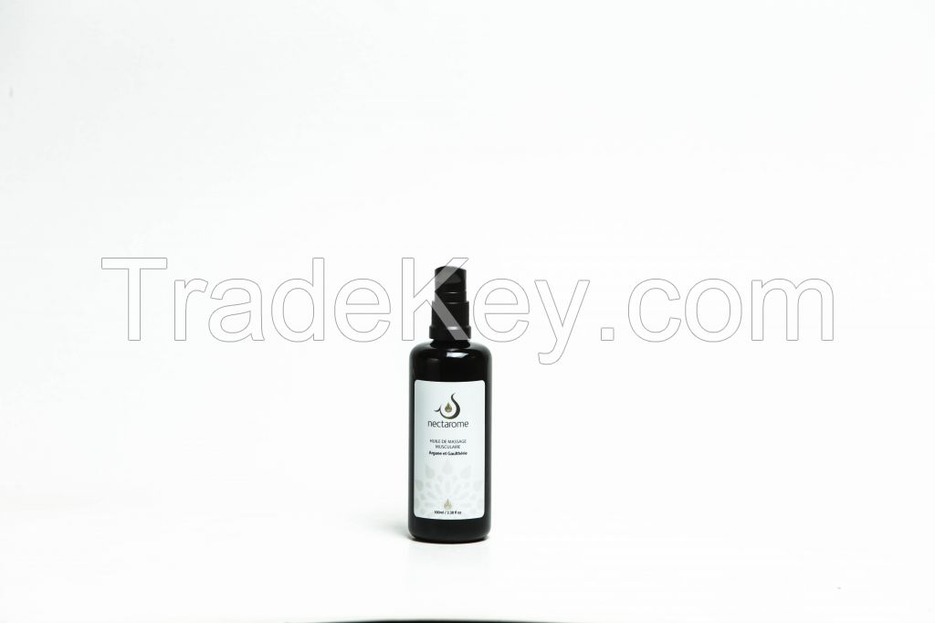 Massage Oil Argan and wintergreen (gaultheria) Essential Oil