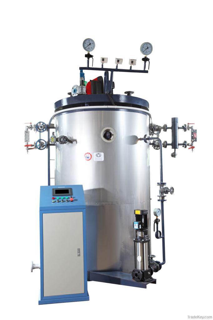 vertical steam boiler