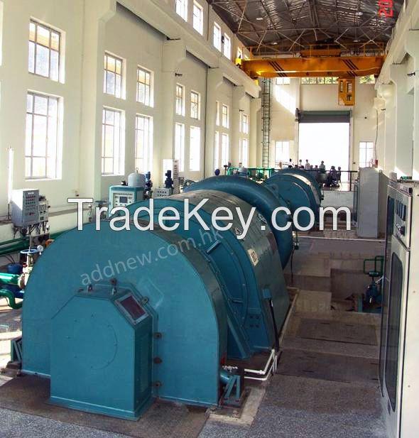 Horizontal Type Hydropower Generators
