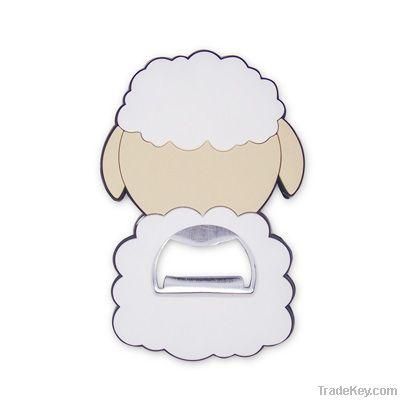 Lovely Sheep Design Bottle Opener