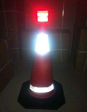 Solar Traffic Cone Light