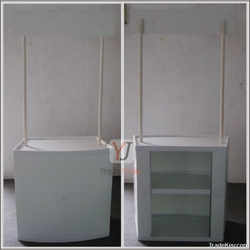 Plastic Promotion Table Booth for advertising