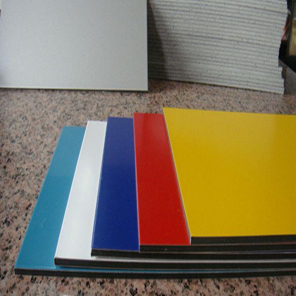 pe/pvdf color coated aluminum sheet