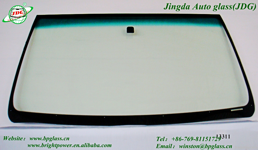 Tempered car windshield Glass