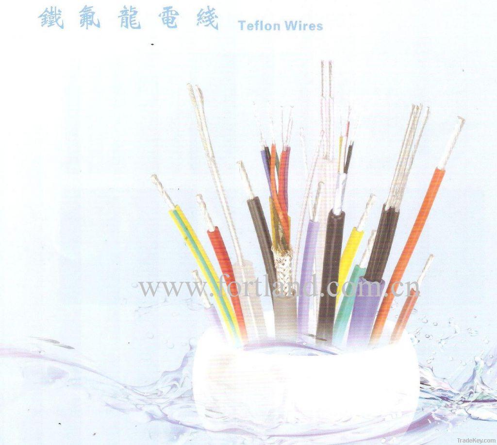Teflon wire cable, silicon rubber wire cable, XLPE wire cable