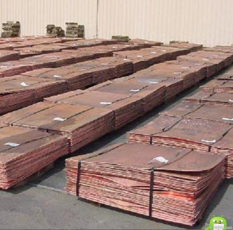 best quantity copper ingot 99.995%(big factory)