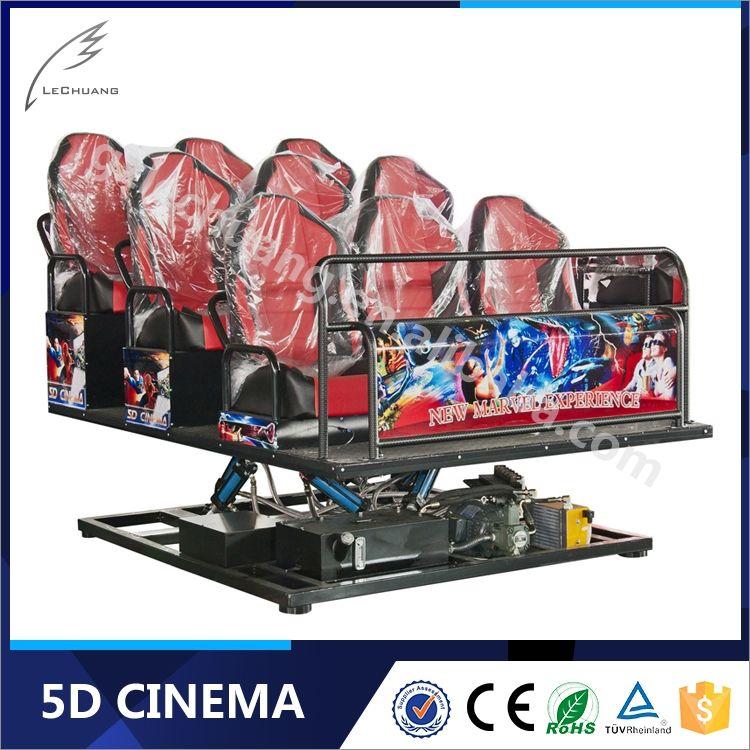 Vivid Effect Hydraulic/Electronic 5D Simulator