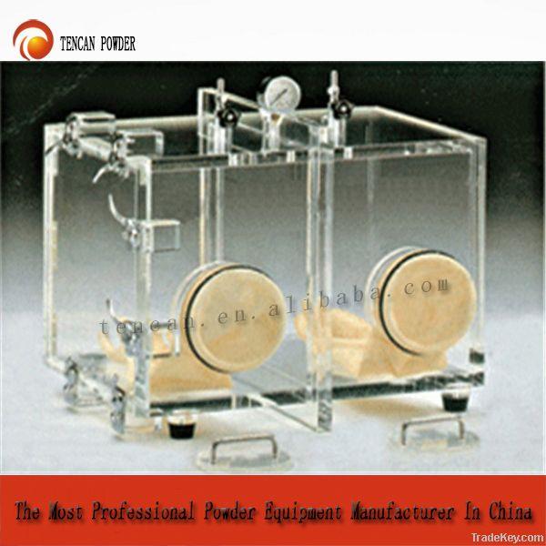 Glove box, vacuum chamber, vacuum pressure