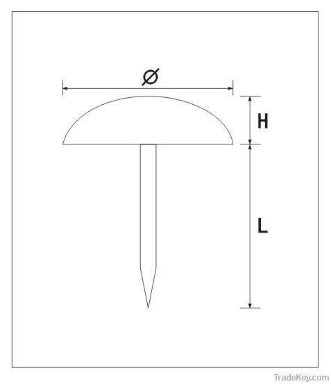 classical metal upholstery sofa nail