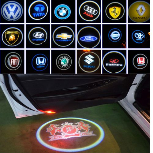 2014 hot selling wireless led car door logo light,car accessories from shizun,auto parts