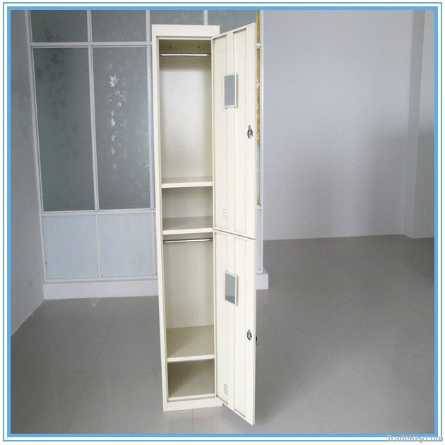 Two-door clothes cabinet
