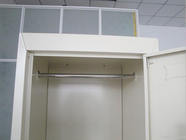 Two-door clothes cabinet