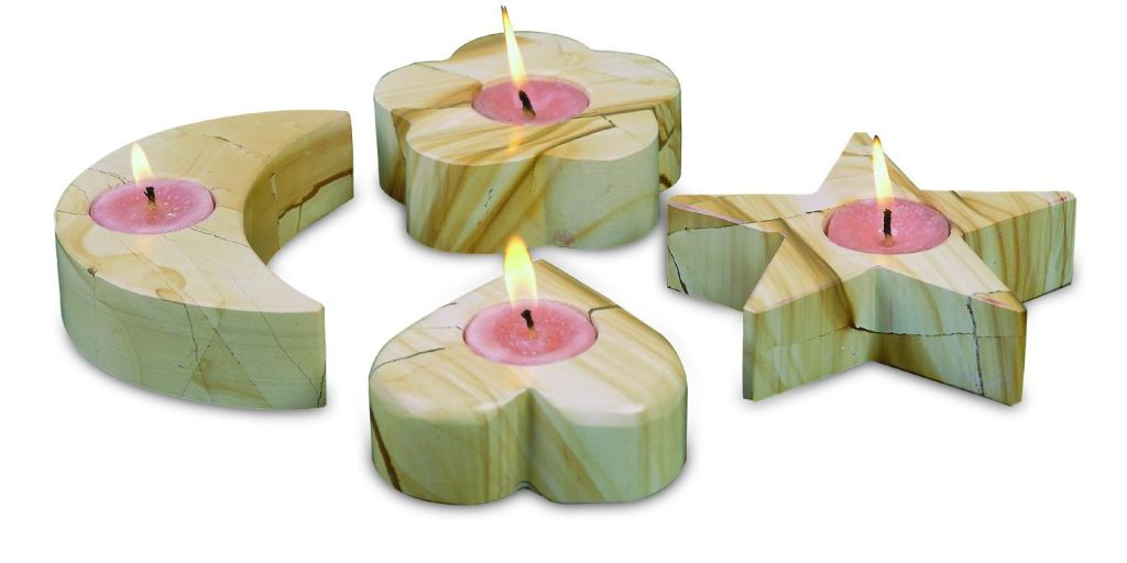 ONYX CANDLE HOLDERS