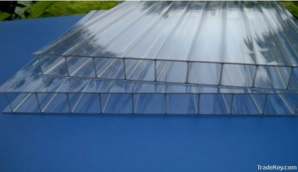 10 years guarrantee makrolon polycarbonate hollow sheet for greenhouse