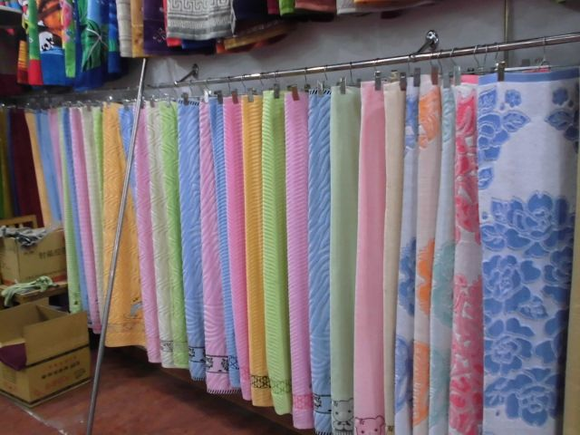 100%cotton hotel yarn-dyed jacquard towel