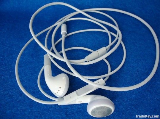 High quality earphone headphone with Mic+Volume control for iphone