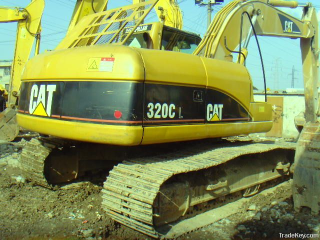 Used Caterpillar 320C Excavator, Original