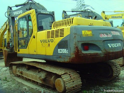 Second hand Excavator, Volvo E210B