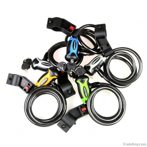 Polygon Spiral Bike Lock with Keys
