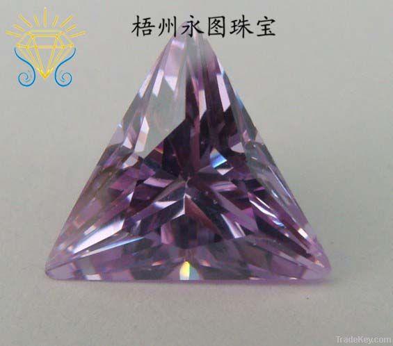 fancy shape synthetic CZ gems cubic zirconia